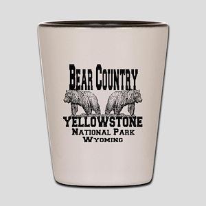bearcountry_yellowstonenp Shot Glass