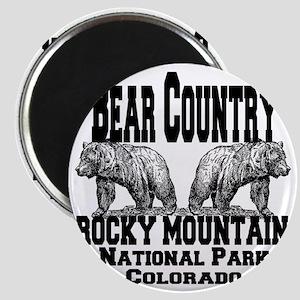 bearcountry_rockymountainnp_colorado Magnet