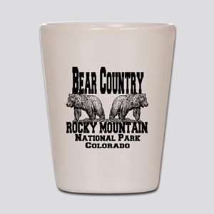 bearcountry_rockymountainnp_colorado Shot Glass