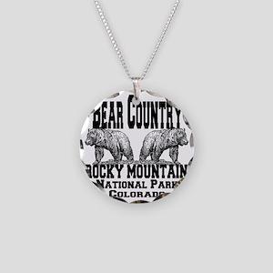 bearcountry_rockymountainnp_ Necklace Circle Charm