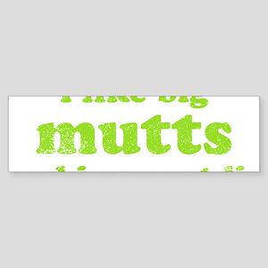 bigmuttsdark Sticker (Bumper)