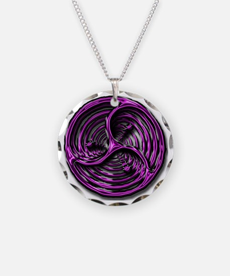 logo vortex Necklace