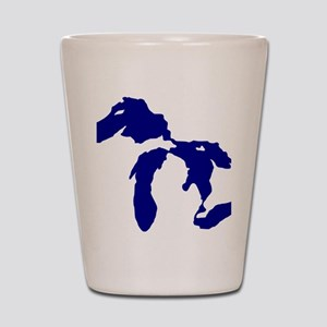 great_lakes Shot Glass