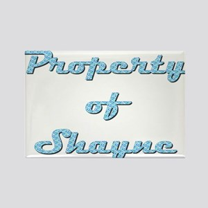 Property Of Shayne Female Rectangle Magnet