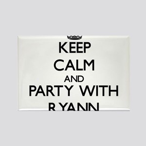 Keep Calm and Party with Ryann Magnets