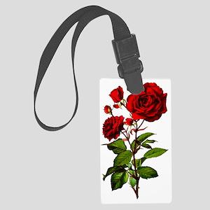rose_short-tr Large Luggage Tag
