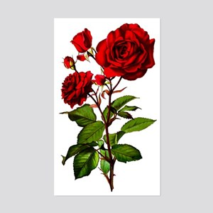 rose_short-tr Sticker (Rectangle)
