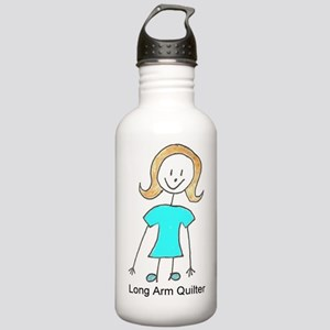stick quilter w text l Stainless Water Bottle 1.0L