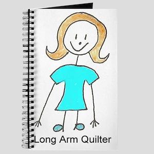 stick quilter w text lg Journal
