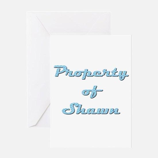 Property Of Shawn Female Greeting Card