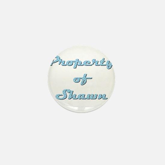 Property Of Shawn Female Mini Button