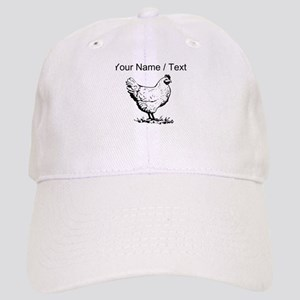 Custom Chicken Sketch Baseball Cap