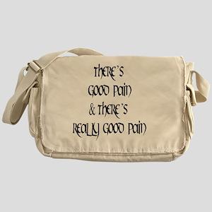 2-good mael black round Messenger Bag