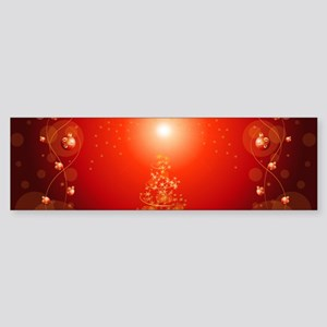 Christmas Tree Bumper Sticker