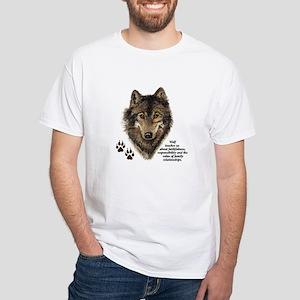 Wolf Totem Animal Guide Watercolor Nature Art T-Sh