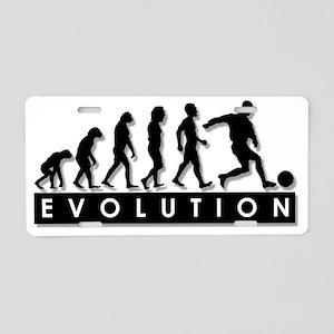 evolution-soccer Aluminum License Plate