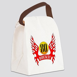 wings80 Canvas Lunch Bag