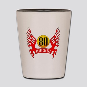 wings80 Shot Glass