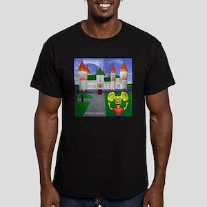 RBG CASTLE Men's Fitted T-Shirt (dark)
