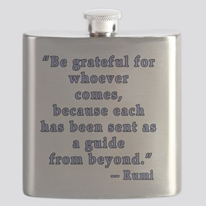 Rumi Spiritual Quotation Flask
