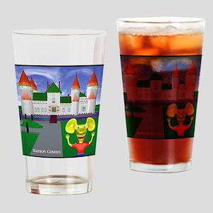 RBG CASTLE Drinking Glass