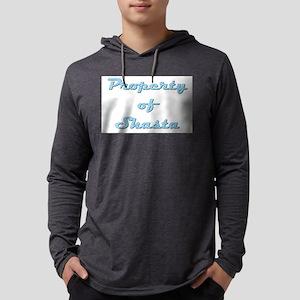 Property Of Shasta Female Mens Hooded Shirt