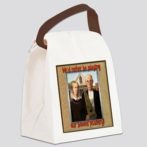 Final Gothic Farmers Canvas Lunch Bag