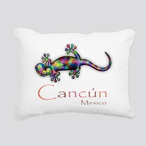 Cancun Rectangular Canvas Pillow