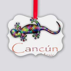 Cancun Picture Ornament