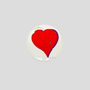infinite love II sans signature copy Mini Button