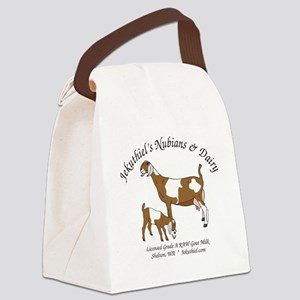 NubianDoeKidDairy Canvas Lunch Bag