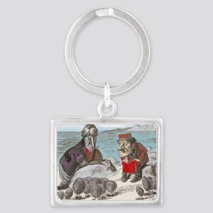 2-ALICE _Through the Looking Gl Landscape Keychain