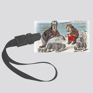 2-ALICE _Through the Looking Gla Large Luggage Tag