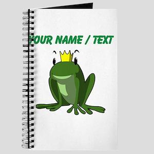 Custom Frog Prince Journal