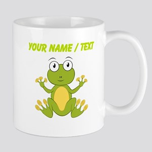 Custom Cartoon Frog Mugs
