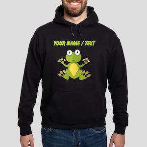 Custom Cartoon Frog Hoodie