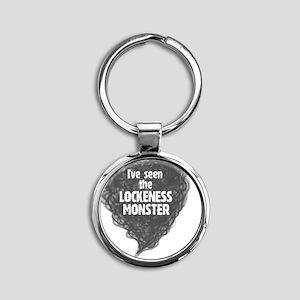 lockeness Round Keychain