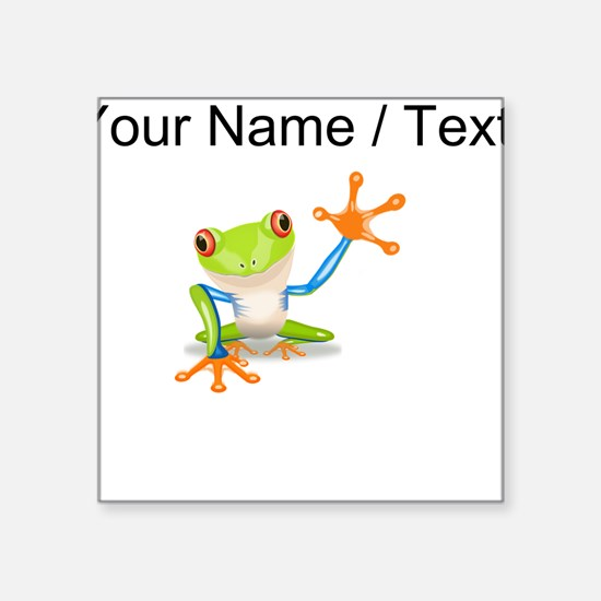 Custom Tree Frog Sticker