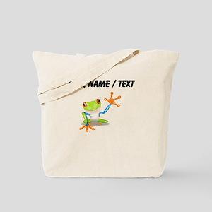 Custom Tree Frog Tote Bag