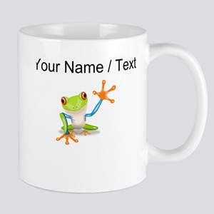 Custom Tree Frog Mugs