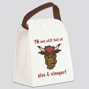 vinegar_70 Canvas Lunch Bag