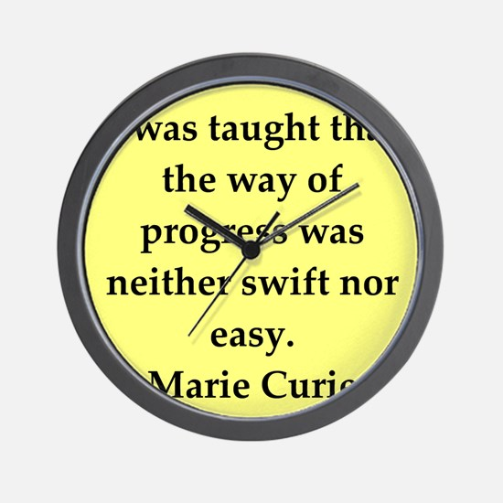 curie3.png Wall Clock