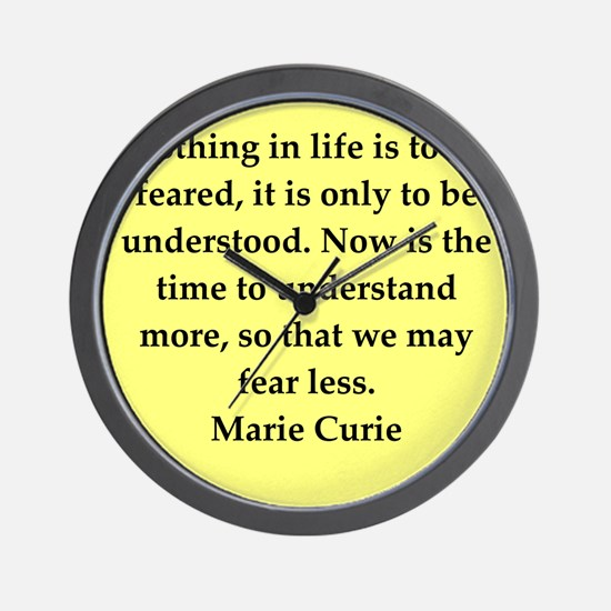 curie7.png Wall Clock