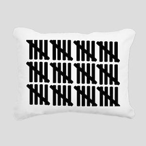 line_sixty Rectangular Canvas Pillow
