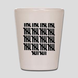 line_ninety Shot Glass