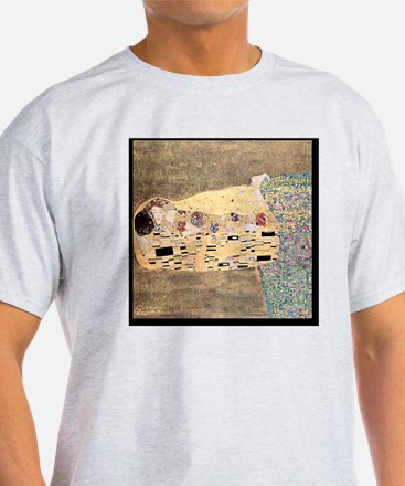 The_Kiss_Gustav_Klimt_2000pix_sig T-Shirt