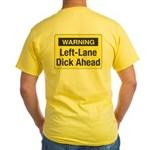 Warning Yellow T-Shirt