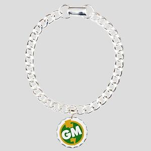 Groomsman Charm Bracelet, One Charm