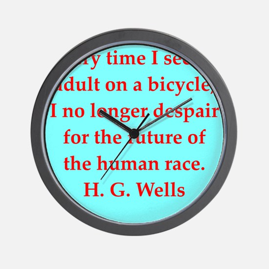 wells3.png Wall Clock