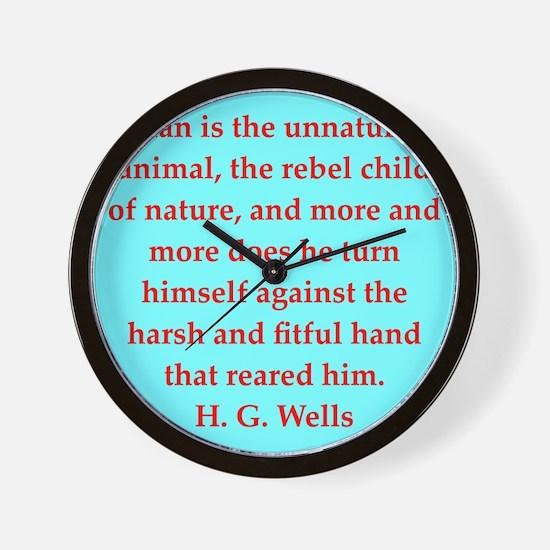 wells7.png Wall Clock